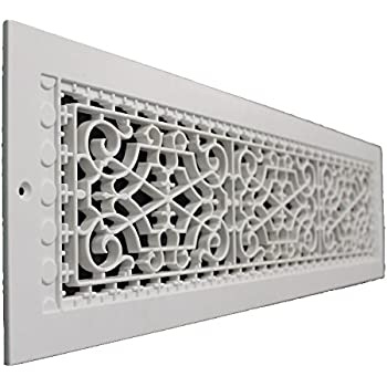 SMI Ventilation Products VBB622 Cold Air Return 6 x 22 Victorian Style Base Board