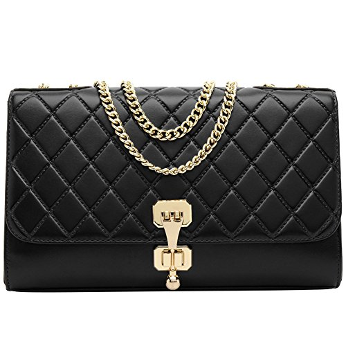 Quilted Small Shoulder Bag - 3