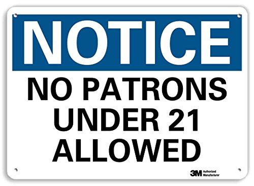 smartsign-by-lyle-u5-1393-ra-10x7-notice-no-patrons-under-21-allowed-reflective-recycled-aluminum-si