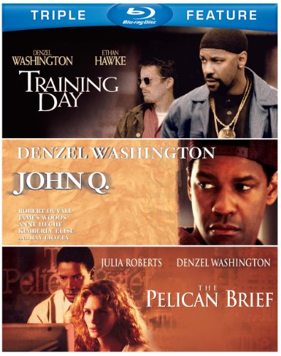 Denzel Washington Triple Feature (The Pelican Brief / Training Day / John Q) [Blu-ray]