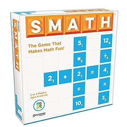 Amazon.com: Pressman Smath: Toys & Games