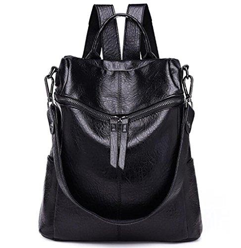 la cuir à 15 des décontracté de mode PU dos sac sac souple femmes 30cm Sac en main à multifonctionnel 28 zwFq5YUq