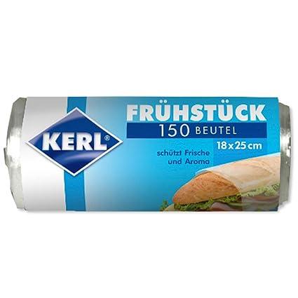 Kerl 4003450040042 - Bolsas para desayuno (18 x 25 cm, 150 ...