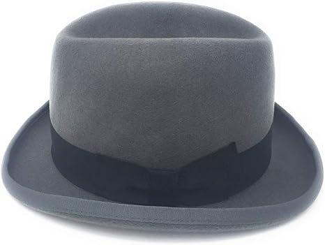 handgefertigt DH Churchill Homburg Filzhut aus 100 /% Wolle