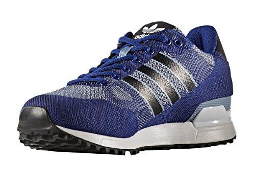 adidas ZX 750 WV, Zapatillas de Deporte Para Hombre, Azul (Tinmis/Negbas/Ftwbla), 38 EU