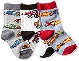 Jefferies Socks Little Boys' Triple Treat  (Pack of 3), Speedy, Small