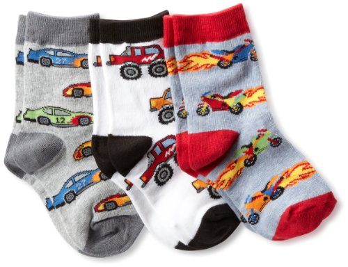 Jefferies Socks Little Boys Triple Treat  (Pack of 3)