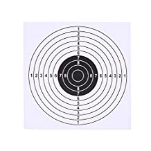 100 Pcs Archery Target Faces, Shooting Training Paper Targets 14 cm