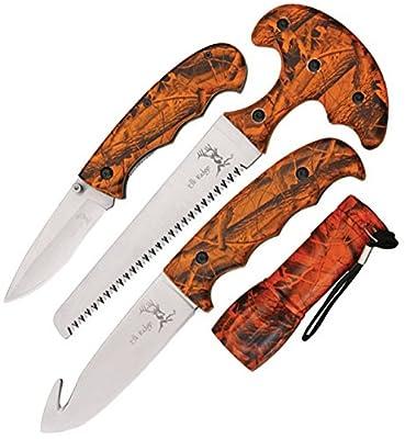 Elk Ridge ER-273OC Combo Knife, 4 Piece