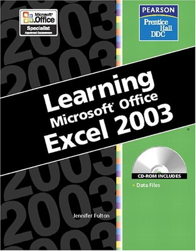 Learning Series (DDC): Learning Microsoft Office Excel 2003