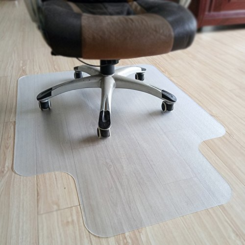 (OSOPOLA Chair Mat Nail Pulley Transparent Multi-Purpose PVC - Hardwood Floors Protector - Office/Home (48