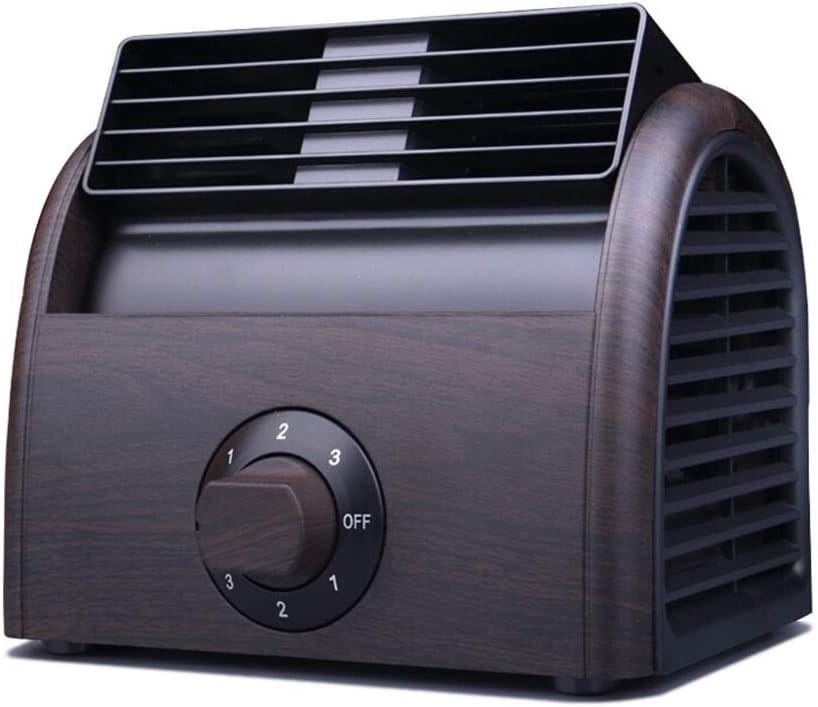 EEGUAI ミニUSB電源デスクファン、小さいながらもマイティ、デスクトップオフィス表のための静かなポータブルファン、より良いため、ベッドオフィスや学生寮のための3の冷却速度