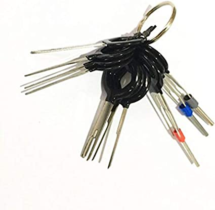 Auto Terminal-Entferner Schlüssel Stift Elektrisch Kabelbaum 11 Stück