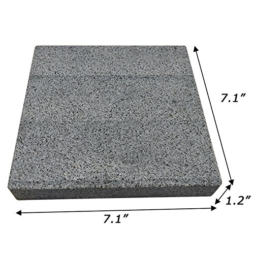 Intbuying Hot Lava Rock Grill Steak Stone Cooking Steak Stone Baking Tray NEW