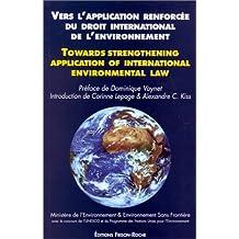 Vers Application Renforcee Droit Intern.environnement