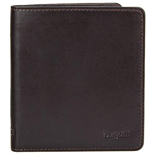 Bugatti Primo Porta tarjetas de credito piel 10 cm marrón