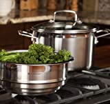 Le Creuset Tri-Ply Stainless Steel Multi-Pot Steamer Set