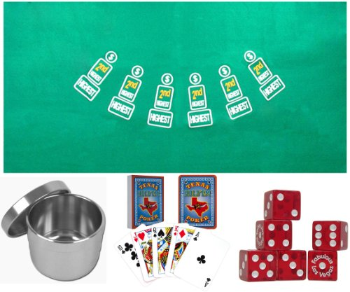PAI GOW Poker Complete Set - Everything You Need to Play Pai Gow Poker!