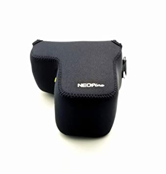 Funda de Neopreno Suave para cámara Sony A6500 con Lente de 18-135 ...