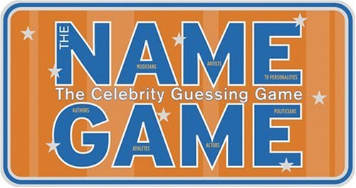 Chronicle Books The Name Game: The Celebrity Guessing Game