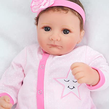 """Weighted Baby Doll 20/"""" Reborn Girl Real Lifelike Vinyl Soft Realistic Toddler"""