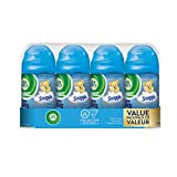 Air Wick Freshmatic Air Freshener, Automatic Spray Refills, Familiar Favourites: Snuggle, Value Pack, 4 Refills