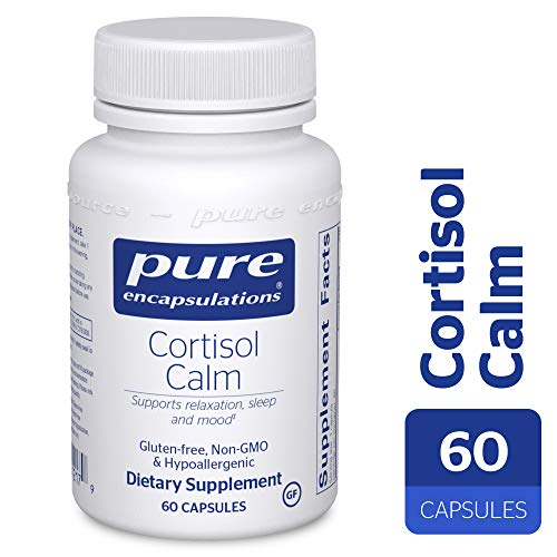 Pure Encapsulations - Cortisol Calm - Hypoallergenic Supplement to Maintain Healthy Cortisol Levels* - 60 Capsules