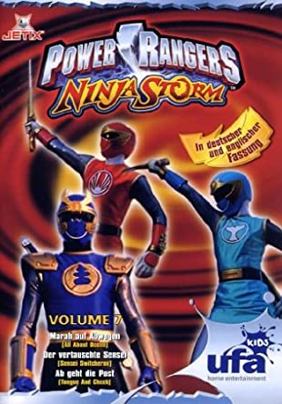 Power Rangers - Ninja Storm 07, Folgen 22-24 Alemania DVD ...