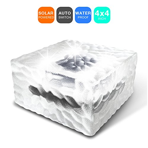 Solar Powered Light Cubes