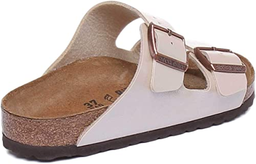 BIRKENSTOCK Damen Sandale Arizona Birko Flor Graceful normal