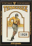 Vintage Tennessee Volunteers 2018 College Football Calendar: Football Game-day Program Art: 1900s to 1970s