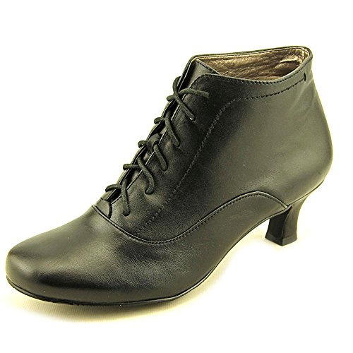 Ankle Leather Closed Fashion Array Black Toe Boots Womens sam S6wWqXz