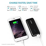 Anker Astro E1 5200mAh Ultra Compact Portable Charger  External Battery Power Bank with PowerIQ Technology for iPhone, iPad, Samsung, Nexus, HTC and More (Black) Bild 3