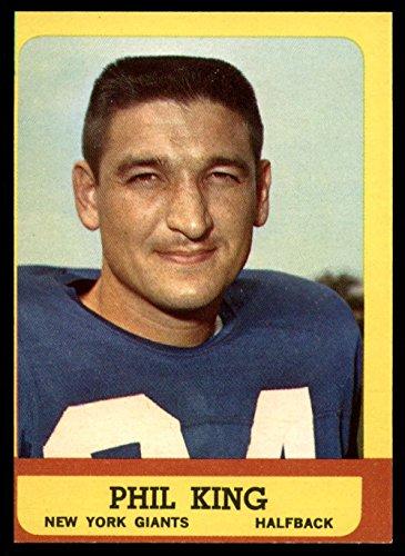 - Football NFL 1963 Topps #52 Phil King NM Near Mint SP NY Giants