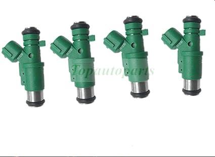 Lot de 4 injecteurs de carburant OEM 1984G0 01F023 9655833580 01F-023 348002 pour Cit Roen C3 Peugeot EOT 206