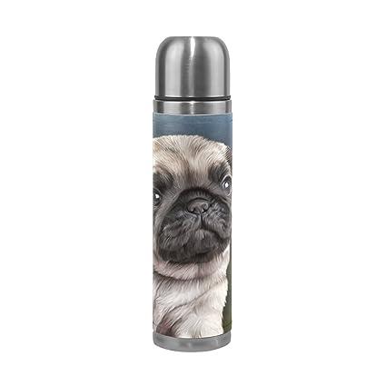 Amazon.com: U LIFE Vintage perro lindo perrito Animal termo ...