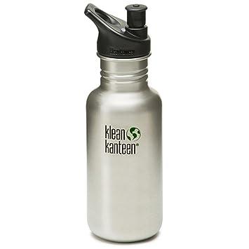 Klean Kanteen 18 oz botella de agua de acero inoxidable ...
