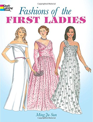 Fashions First Ladies Fashion Coloring product image