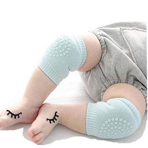 baby-crawling-anti-slip-knee-elbow-pads-breathable-leg-warmer-elastic-infant-protect-socks-light-gre