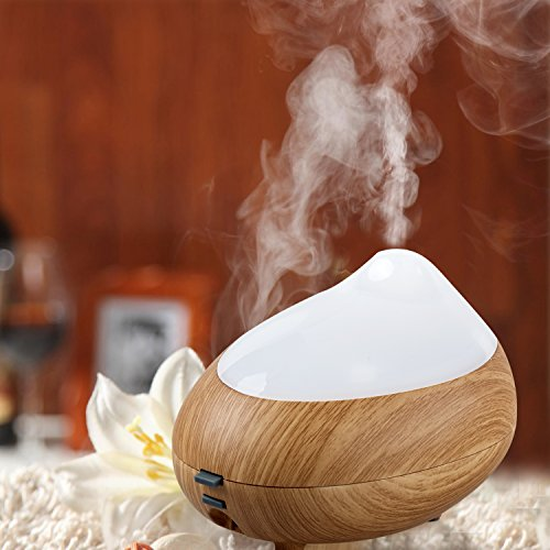 BlueFire Ultrasonic Aromatherapy Humidifier Color Changing