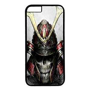 Iphone 6 case ,fashion durable black side design phone case, pc material phone cover ,with skull.