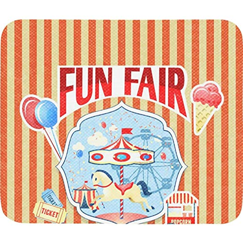 Unisex Woman The Carnival Poster Orange White Fashion Pads Home Office Computer Style Schoolsuppies -