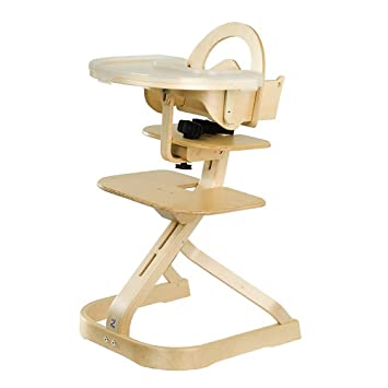 Awesome Svan High Chair With Tray Cover   Natural