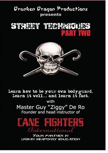 Street Self Defense Techniques Combat Cane #2 DVD Cane Fighters International