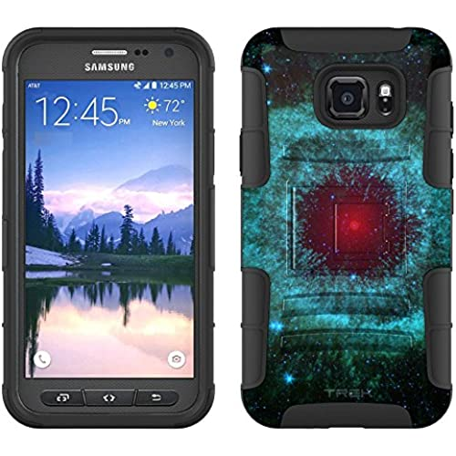 Samsung Galaxy S7 Active Armor Hybrid Case Helix Nebula Red Eye 2 Piece Case with Holster for Samsung Galaxy S7 Active Sales