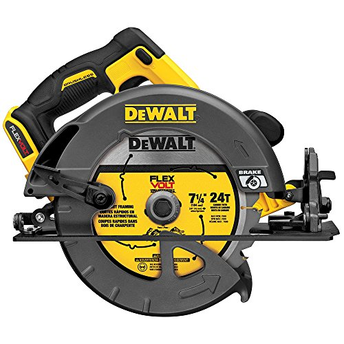 DEWALT DCS575B FLEXVOLT 60V MAX Lithium-Ion Brushless 7 1/4' Circular Saw (Bare Tool)