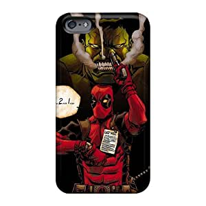 TammyCullen Apple Iphone 6 Bumper Mobile Cases Custom Lifelike Hulk And Deadpool Series [Zla13786rHTI]
