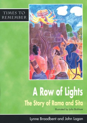 A Row of Lights: Big Book: The Story of Rama and Sita (Times to Remember)