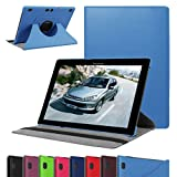 """Lenovo Tab 2 A10 Rotating Case,Mama Mouth 360 Degree Rotary Stand Cover For 10.1"""" Lenovo Tab 2 A10-70L / A10-70F Andriod Tablet,Light Blue"""