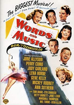 Amazon com: Words and Music (DVD): Arthur Freed, Fred F  Finklehoffe